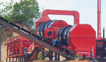 Asphalt Mixers Plant supplier in India, asphalt drum mix plant process