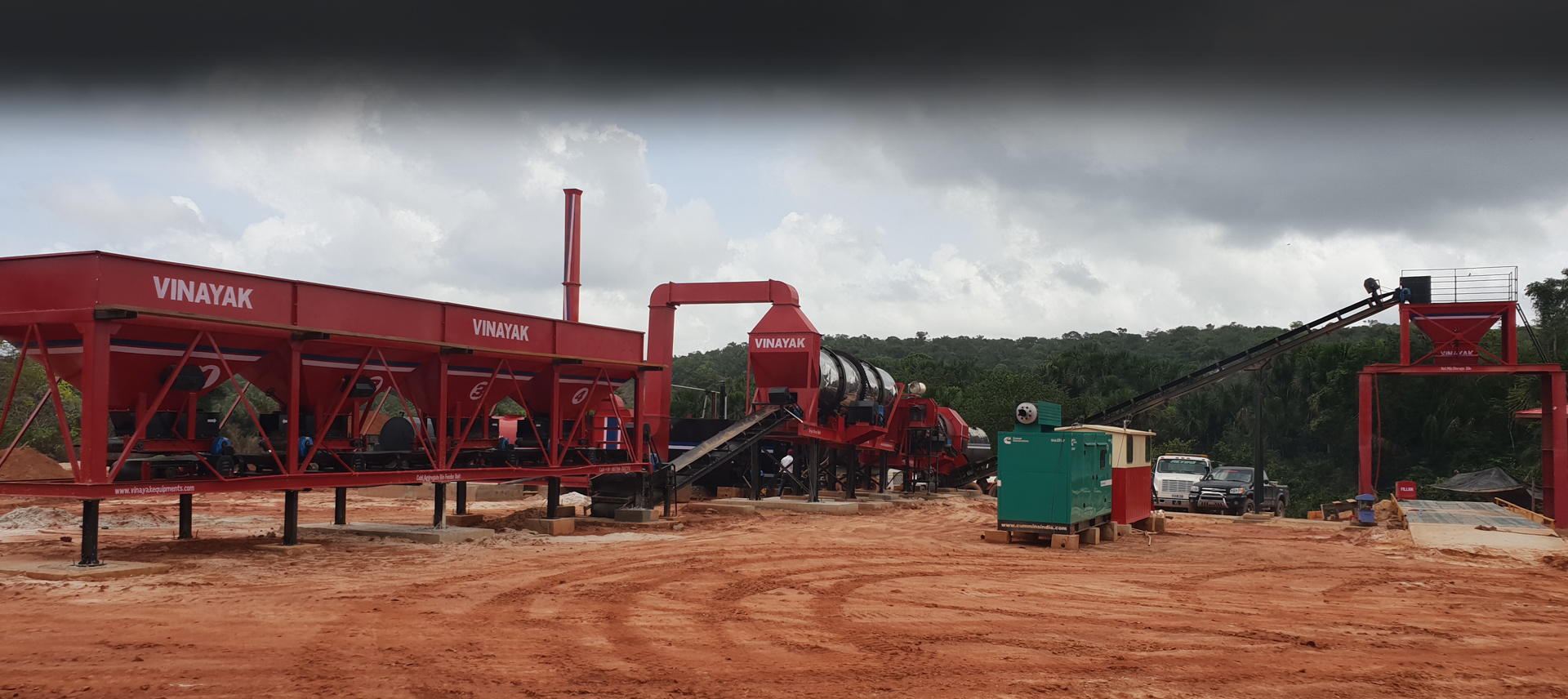Asphalt drum Mix Plant, Manufacturers, Suppliers, Exporter in Gujarat, India